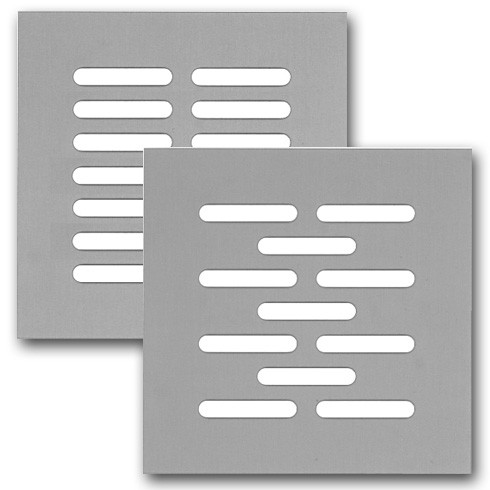 Lochblech mit Schlitzlochung 30x5 - Edelstahl