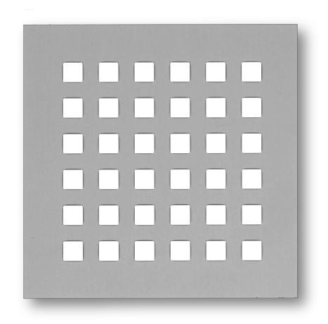 Lochblech mit Vierkantlochung 7mm - Edelstahl